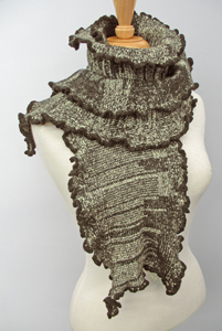 Cashmere Blended Kelp: Sonya Mackintosh: Knit Scarf - Artful Home :  wool cashmere scarf women