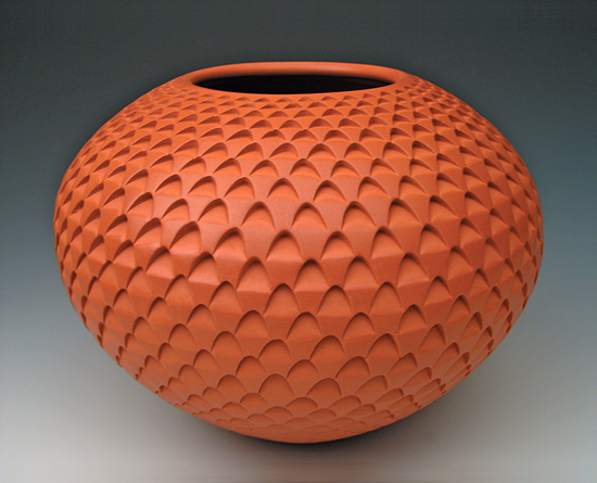 Red Sunflower Weave Vase