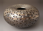 Black Diamond Donut by Michael Wisner (Ceramic Vessel)