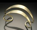 Flared Double Cuff by Stephen LeBlanc (Silver Cuff)