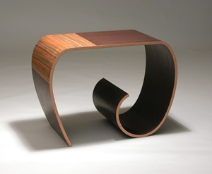 Apple Table - Wood Side Table - by Kino Guerin