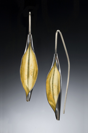 """Open Pod Earrings"""