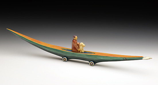 Journey Boat: Figure with Dog