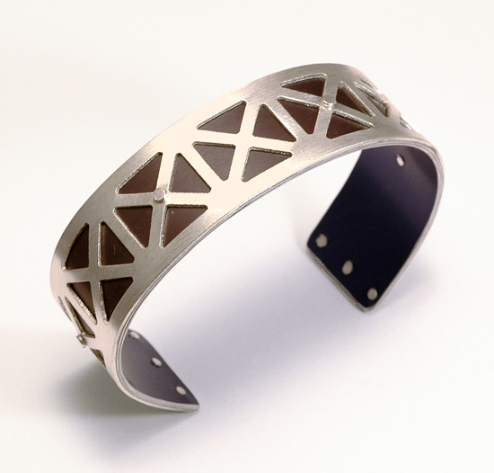 Extra Small Union Jack Cuff - Bronze