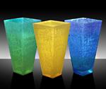 Spectrum Vase by Cheryl McNeill (Art Glass Vase)