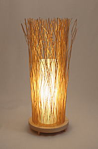 Meadow Floor Lamp: Nori Morimoto: Wood Floor Lamp - Artful Home