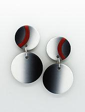 Laura Earrings by Klara Borbas (Polymer Clay Earrings)
