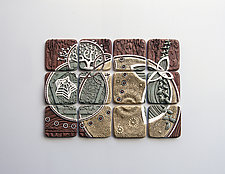 Equisymbrium by Christopher Gryder (Ceramic Wall Sculpture)