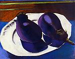 Eggplants by Jane Sterrett (Giclee Print)