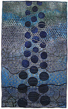 Geoforms: Strata #3 by Michele Hardy (Fiber Wall Hanging)