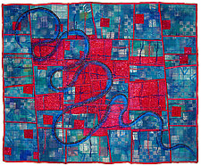 Directions #18 by Michele Hardy (Fiber Wall Hanging)