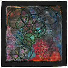 Elements #10 by Michele Hardy (Fiber Wall Hanging)