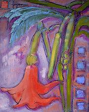 Lyric Dance I by Dorothy Fagan (Mixed-Media Painting)