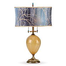 Ashton by Susan Kinzig and Caryn Kinzig (Mixed-Media Table Lamp)