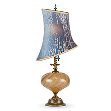 Alexis by Susan Kinzig and Caryn Kinzig (Mixed-Media Table Lamp)