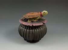 Turtle Box by Nancy Y. Adams (Ceramic Box)