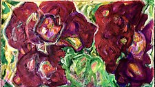 Three Dee by Kathryn Pistor (Acrylic Painting)