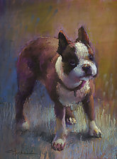 Spanky by Cathy Locke (Pastel Painting)