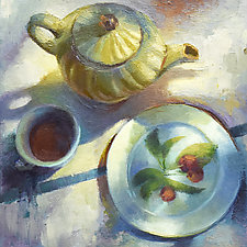 Tea Party by Cathy Locke (Oil Painting)