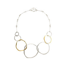 Seven RC Necklace by Lisa Crowder (Gold & Silver Necklace)