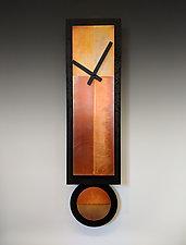 G.G. Pendulum Clock by Leonie  Lacouette (Metal Clock)