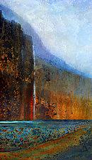 Multnomah Falls II by LuAnn Ostergaard (Giclee Print)