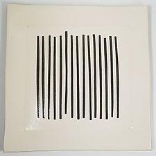 Square Platter by Lori Katz (Ceramic Platter)