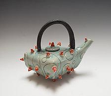 Urchin Teapot by Vaughan Nelson (Ceramic Teapot)