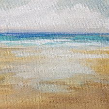 Nice Day by Karen  Hale (Acrylic Painting)