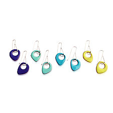 Sway Earrings by Jenny Windler (Enameled Earrings)