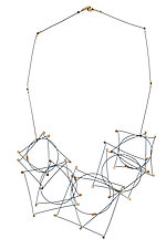 Short Shape Necklace by Meghan Patrice  Riley (Gold & Silver Necklace)