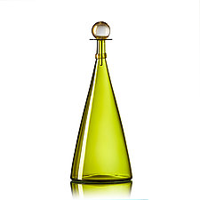 Bright Large Jewel Bottles by Vetro Vero (Art Glass Bottle)