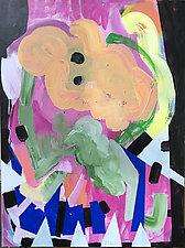 Head of Honey by Amantha Tsaros (Acrylic Painting)