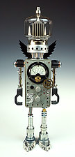 Recyclotron Series by Amy Flynn (Mixed-Media Sculpture)