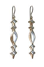Openwork Earrings by Sher Novak (Gold & Silver Earrings)