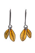Little Sprig Earrings by Sher Novak (Gold & Silver Earrings)