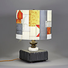 Winter in July by Mark  Taylor and James Aarons (Mixed-Media Table Lamp)