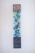 Coral Cathedrals by Cathy Shepherd (Art Glass Wall Sculpture)