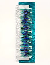 Sanctuary by Cathy Shepherd (Art Glass Wall Sculpture)