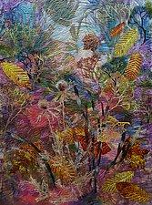 Autumn Sundown by Olena Nebuchadnezzar (Fiber Wall Hanging)