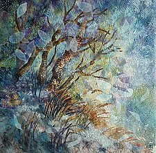 Winter Dusk by Olena Nebuchadnezzar (Fiber Wall Hanging)