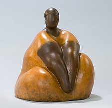 Tranquility 2 by Nnamdi Okonkwo (Bronze Sculpture)
