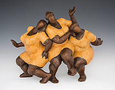 Joy by Nnamdi Okonkwo (Bronze Sculpture)