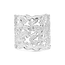 Splash Cuff by Kristen Baird (Silver Bracelet)