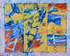 Shuffle by Robert Poe (Acrylic Painting)
