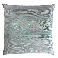 Woodgrain Velvet Pillow by Kevin O'Brien (Velvet Pillow)