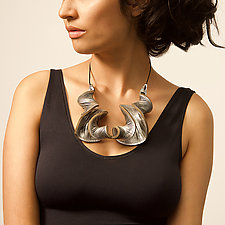 Oryx Double Necklace by Karole Mazeika (Leather & Copper Necklace)