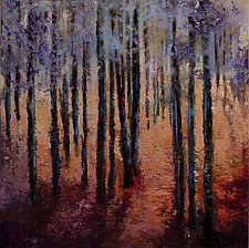Forest and Trees by Heather Fields (Oil Painting)