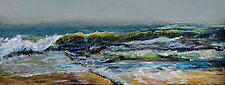 Oregon Ocean by Heather Fields (Acrylic Painting)