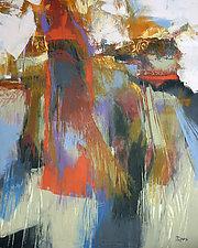 Kyoto Figure II by Larry Davis (Oil Painting)